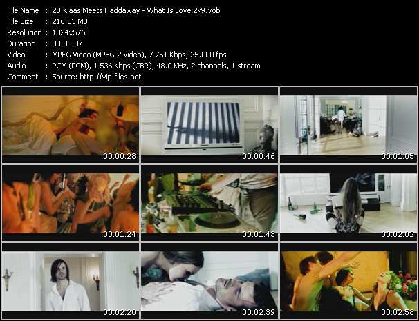 video What Is Love 2k9 screen