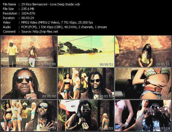 download Rico Bernasconi « Love Deep Inside » video vob