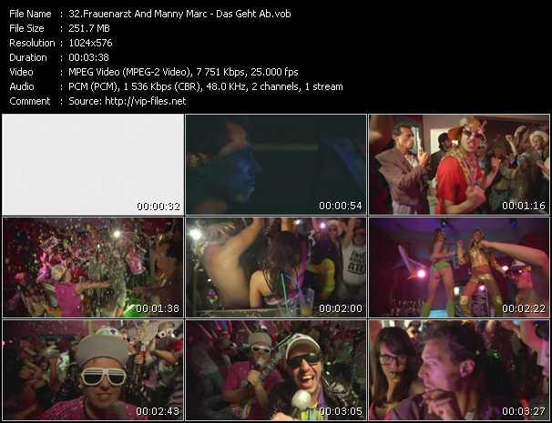 download Frauenarzt And Manny Marc « Das Geht Ab » video vob