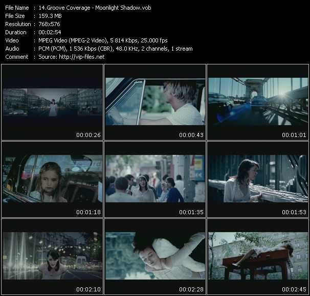 video Moonlight Shadow screen
