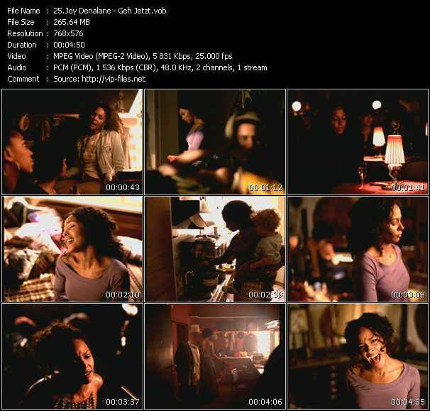 download Joy Denalane « Geh Jetzt » video vob