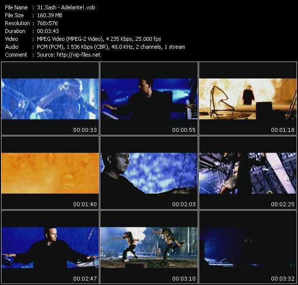 video Adelante! screen
