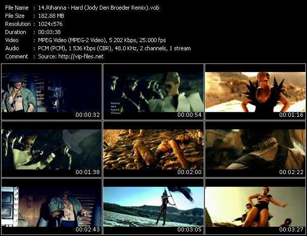 video Hard (Jody Den Broeder Remix) screen