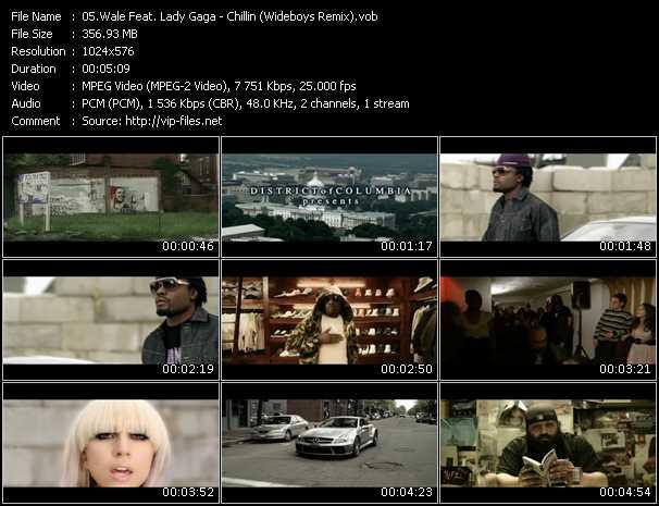 video Chillin (Wideboys Remix) screen
