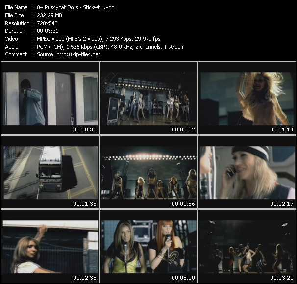 video Stickwitu screen