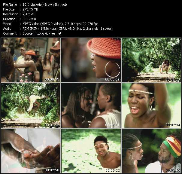 video Brown Skin screen