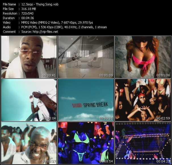 video Thong Song screen