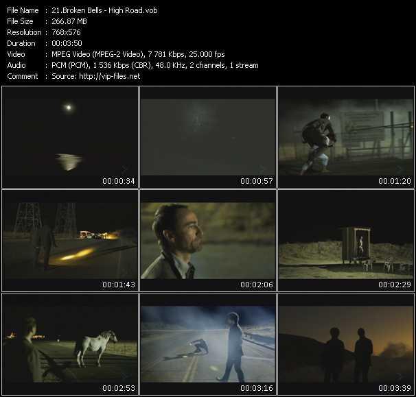 download Broken Bells « High Road » video vob