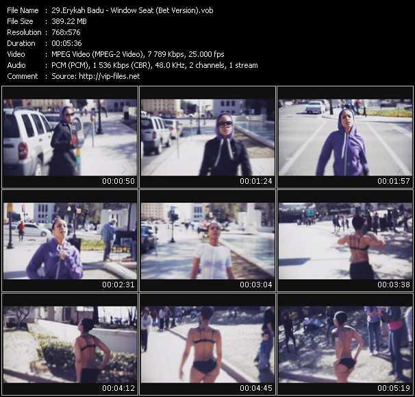 video Window Seat (BET Version) screen