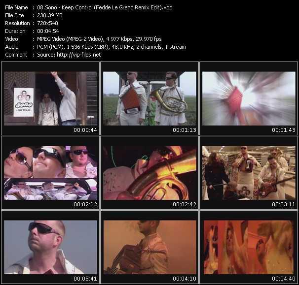 video Keep Control (Fedde Le Grand Remix Edit) screen