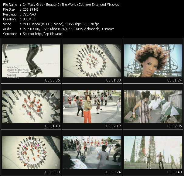 video Beauty In The World (Cutmore Extended Mix) screen