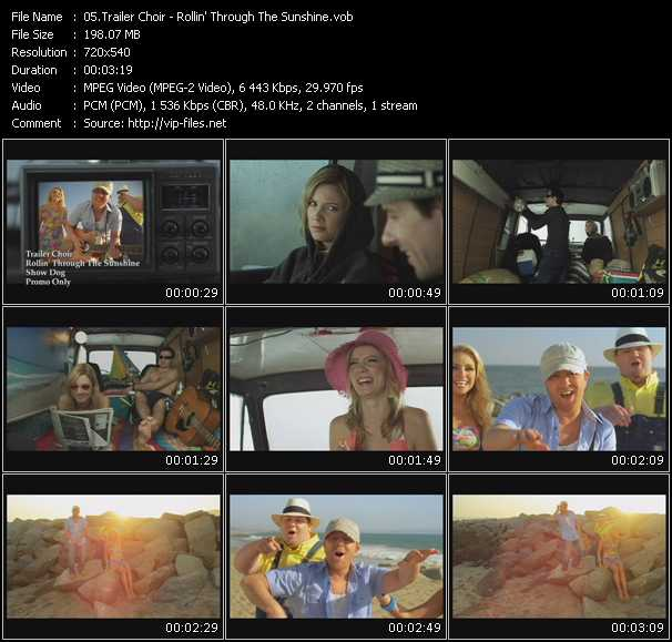 download Trailer Choir « Rollin' Through The Sunshine » video vob