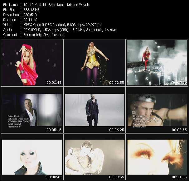 video Be Free - Whatcha Doin' To Me (Twisted Dee Club Edit) - Love Is The Look (Rosario K-Y Intrigue Club Edit) screen