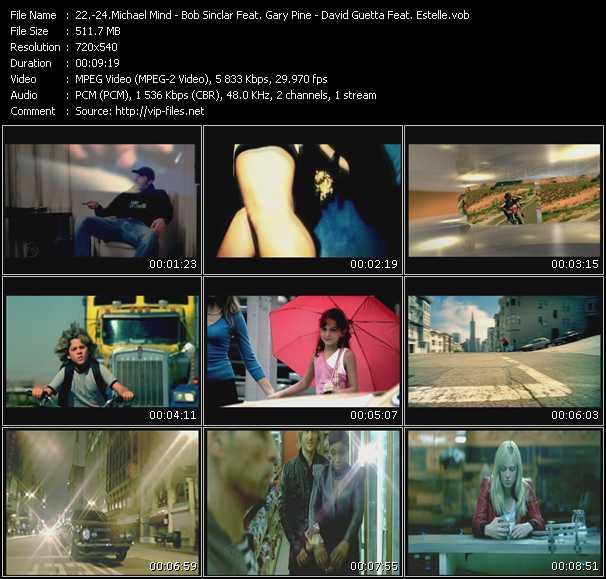 download Michael Mind - Bob Sinclar Feat. Gary Pine - David Guetta Feat. Estelle « Baker Street - Love Generation - One Love » video vob