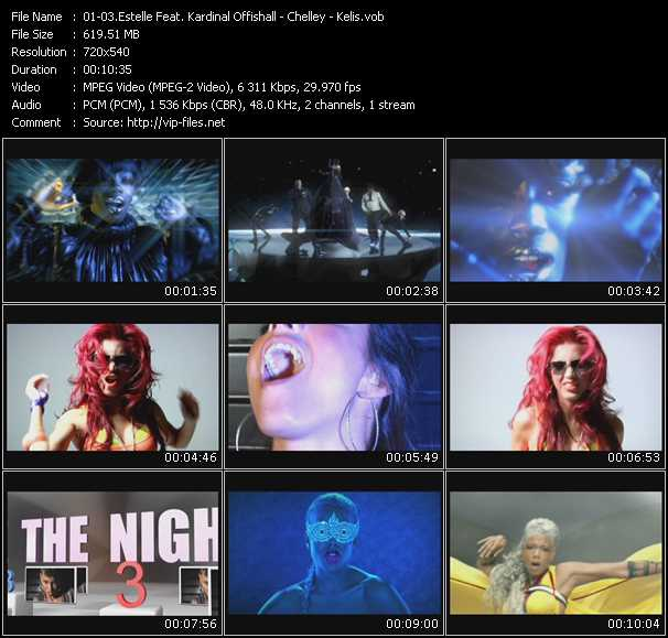 video Freak - Took The Night - Acapella screen