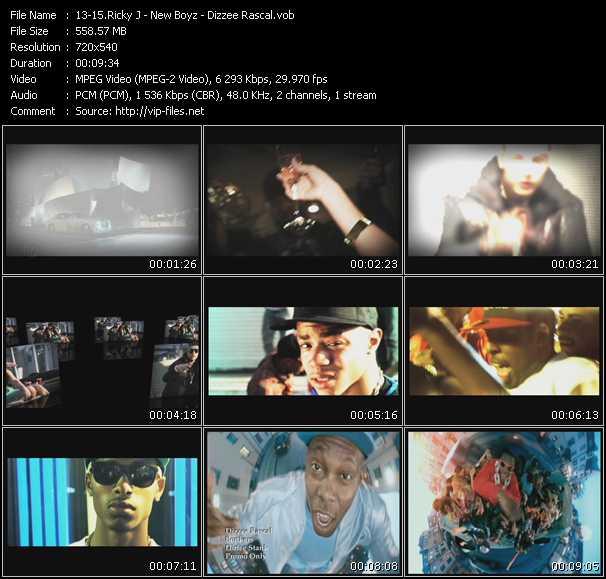 download Ricky J - New Boyz - Dizzee Rascal « Whatta Night - You're A Jerk (Donni Hotwheel Club Edit) - Bonkers » video vob