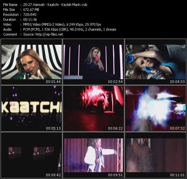 download Hannah - Kaatchi - Kaylah Marin « Keeping Score (Sharp Boys Remix) - Be Free (Klubjumpers Mix) (ISV Video Mix By DVJ Alex Andrade) - On The Floor (Oh Baby Please) (Mike Rizzo Radio Edit) » video vob