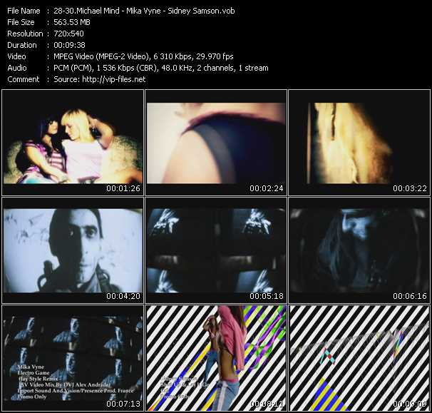 download Michael Mind - Mika Vyne - Sidney Samson « Baker Street - Electro Game (Jay Style Remix) (ISV Video Mix By DVJ Alex Andrade) - Shut Up And Let It Go » video vob