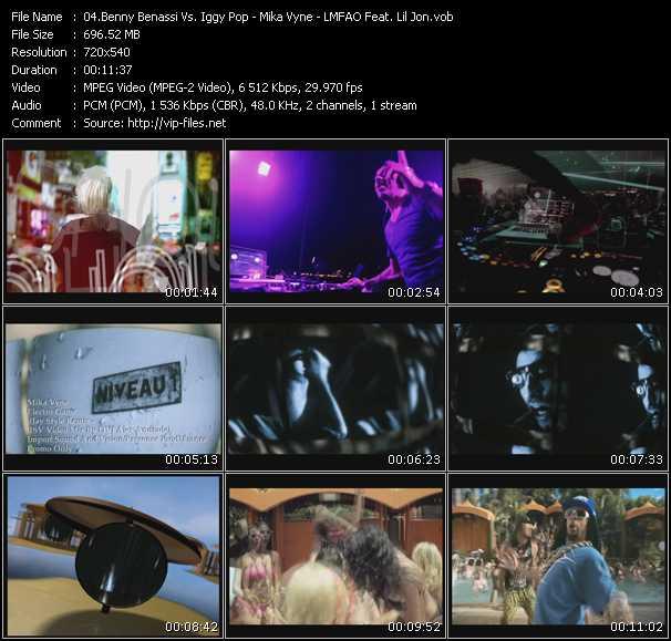 download Benny Benassi Vs. Iggy Pop - Mika Vyne - Lmfao Feat. Lil' Jon « Electro Sixteen - Electro Game (Jay Style Remix) (ISV Video Mix By DVJ Alex Andrade) - Shots » video vob