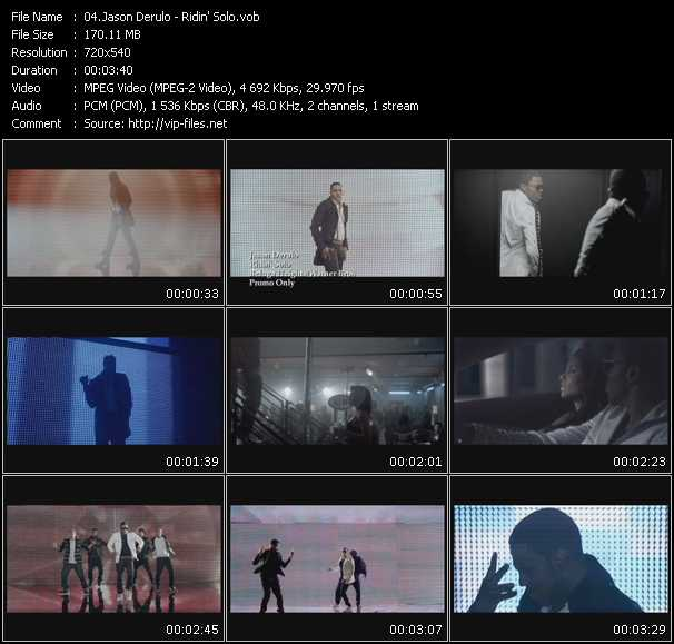 download Jason Derulo « Ridin' Solo » video vob
