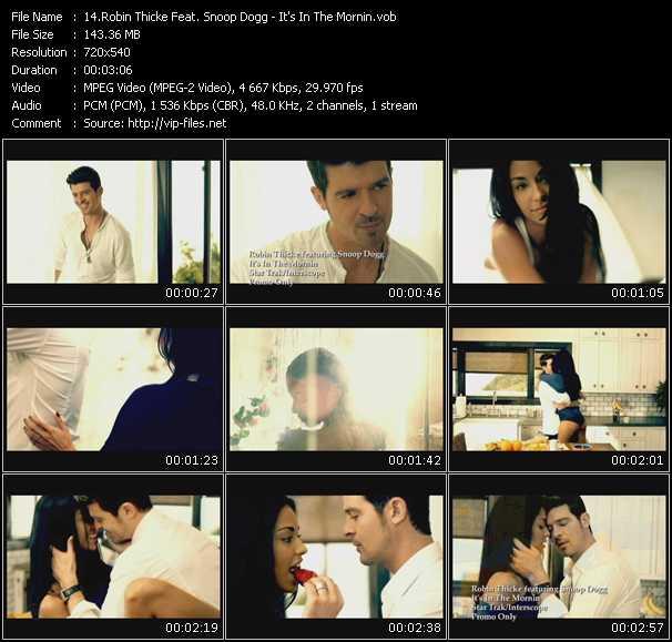 video It's In The Mornin screen