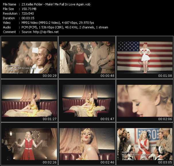 video Makin' Me Fall In Love Again screen