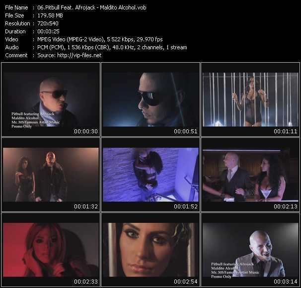 video Maldito Alcohol screen