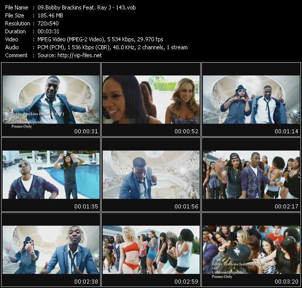 download Bobby Brackins Feat. Ray J « 143 » video vob