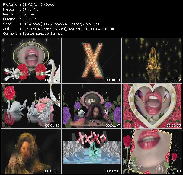 video XXXO screen
