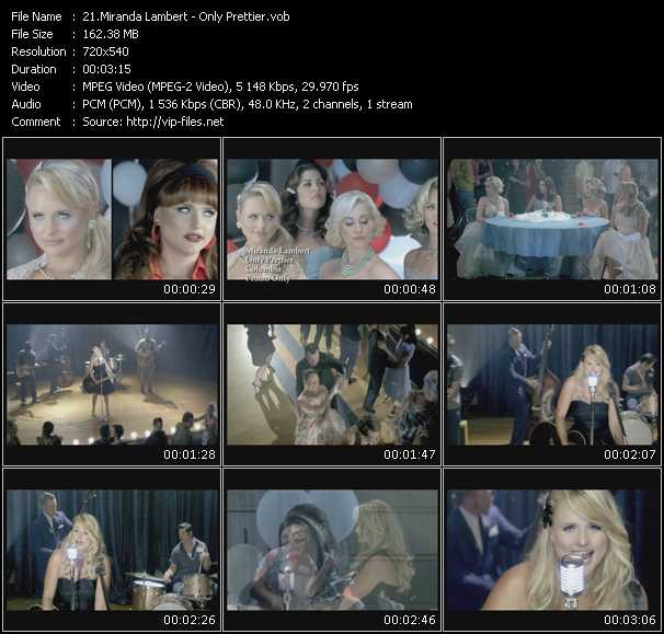 download Miranda Lambert « Only Prettier » video vob