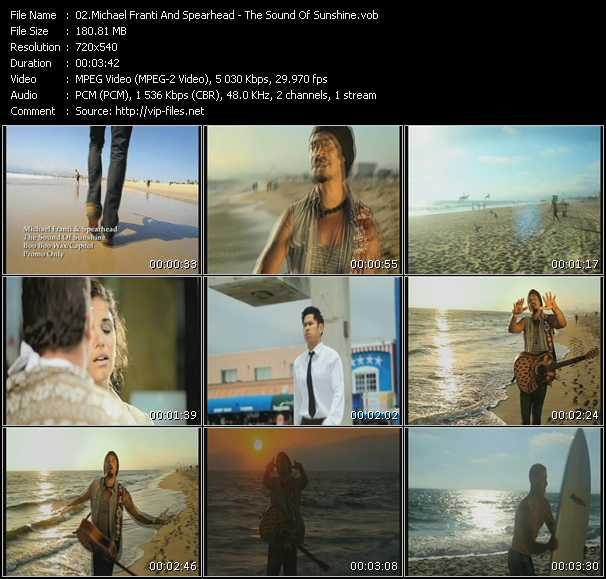 download Michael Franti And Spearhead « The Sound Of Sunshine » video vob