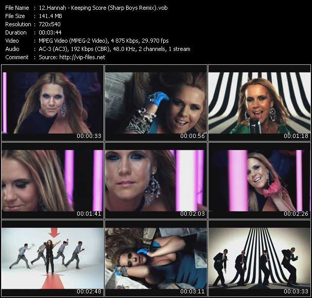 video Keeping Score (Sharp Boys Remix) screen