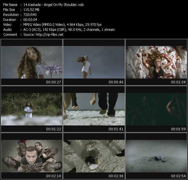 download Kaskade « Angel On My Shoulder » video vob