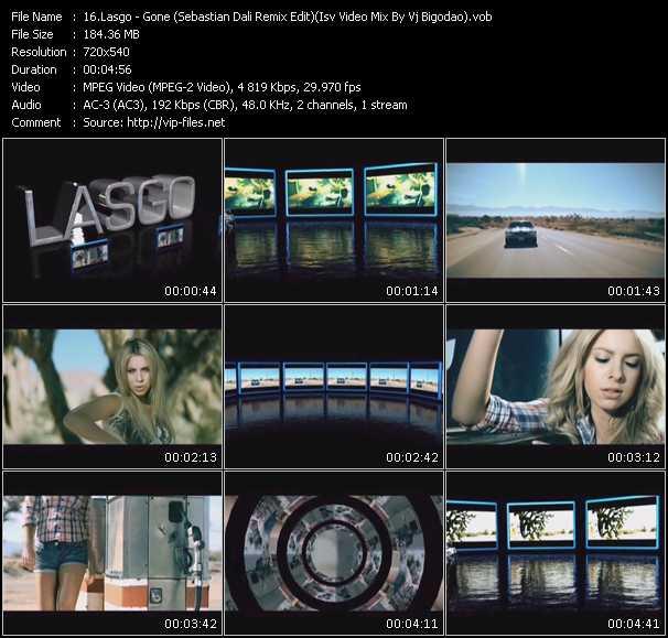 download Lasgo « Gone (Sebastian Dali Remix Edit) (Isv Video Mix By Vj Bigodao) » video vob