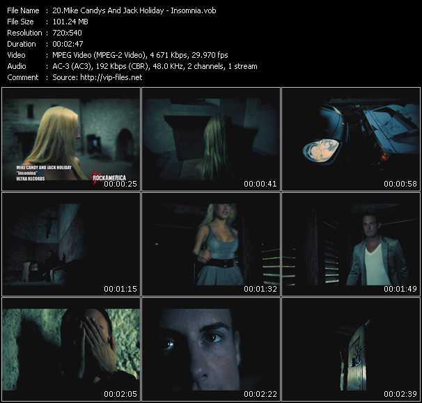 video Insomnia screen