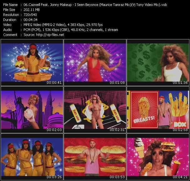 video I Seen Beyonce (Maurice Tamraz Mix) (Vj Tony Video Mix) screen