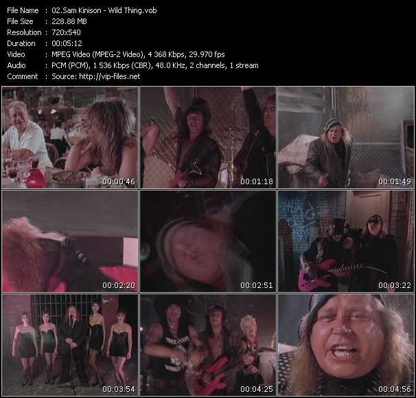 download Sam Kinison « Wild Thing » video vob