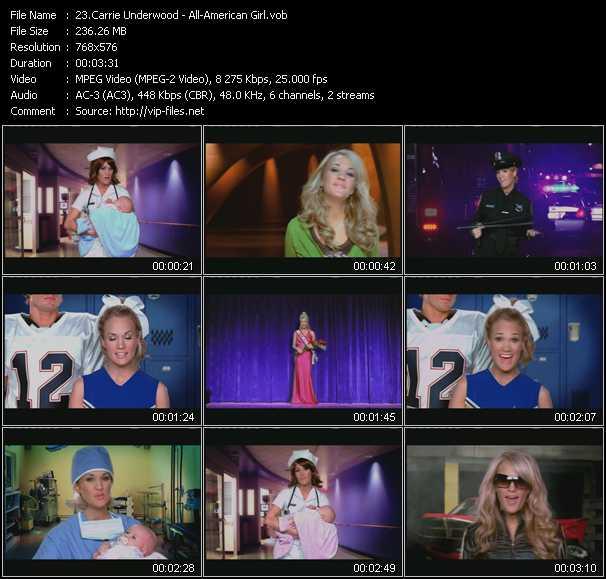 video All-American Girl screen