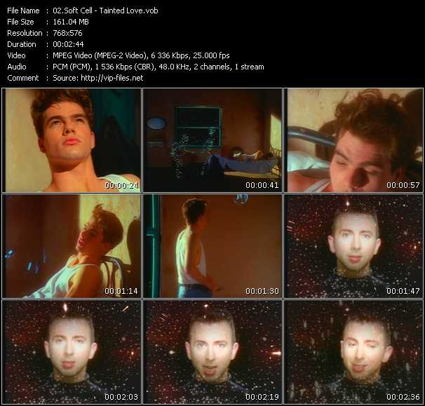 download Soft Cell « Tainted Love » video vob