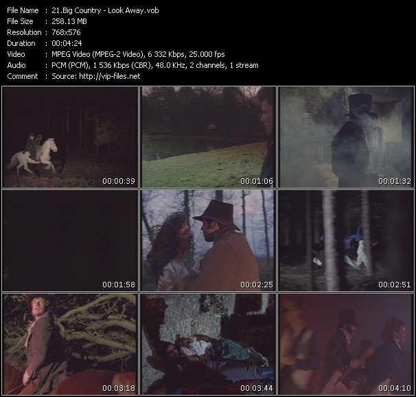 video Look Away screen