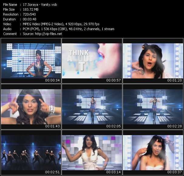 video Vanity screen