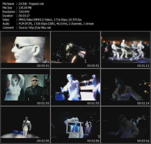 download Edt « Popped » video vob