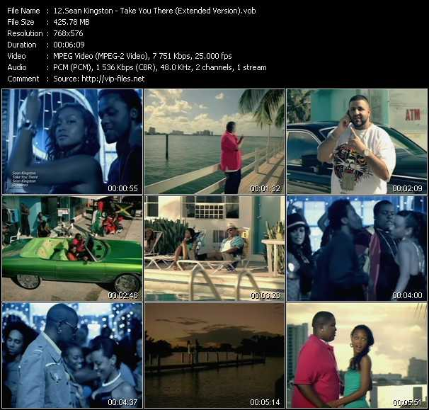 video Take You There (Extended Version) screen