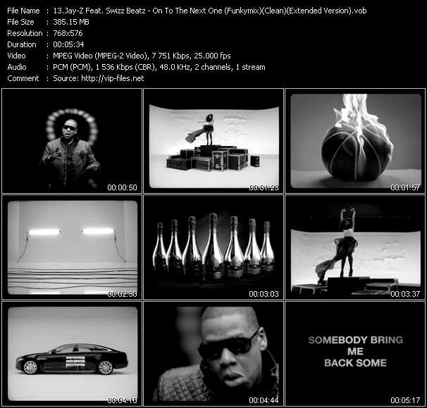 video On To The Next One (Funkymix) (Clean) (Extended Version) screen