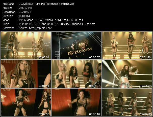 video Like Me (Extended Version) screen