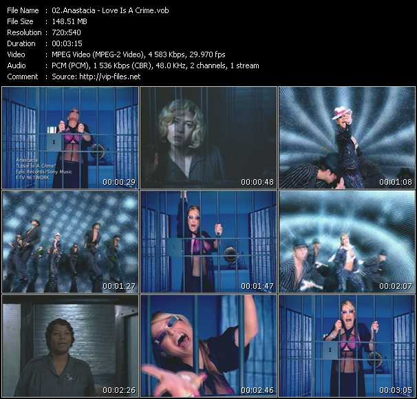 download Anastacia « Love Is A Crime » video vob