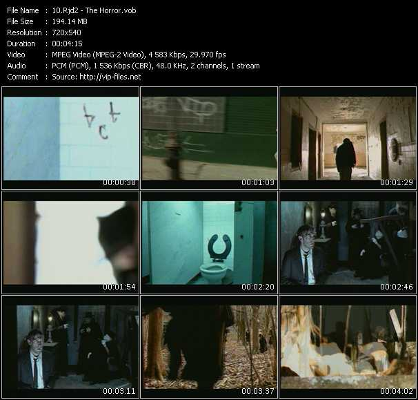 download Rjd2 « The Horror » video vob