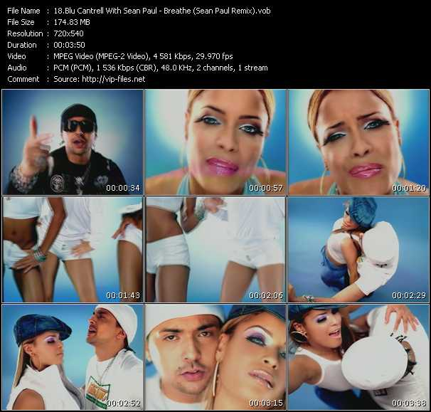 video Breathe (Sean Paul Remix) screen