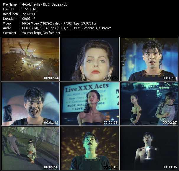video Big In Japan screen
