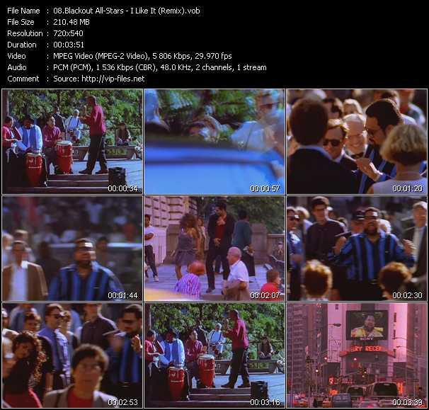 video I Like It (Remix) screen